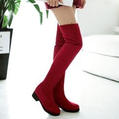 Gizmal Boots - Over The Knee Boots