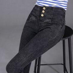 Keylook - 窄身長褲