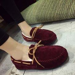 南在南方 - 蝴蝶结乐福鞋