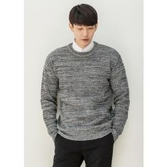 GERIO - Round-Neck Colored Sweater