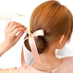 Jael - Ribbon Hair Bun-making Band