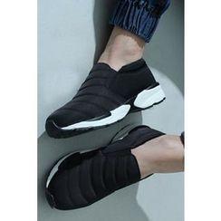 Ohkkage - Fleece-Lined Slip-Ons