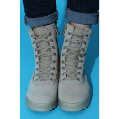 Ohkkage - Lace-Up Boots