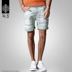Hey! DUDE - Washed Denim Shorts