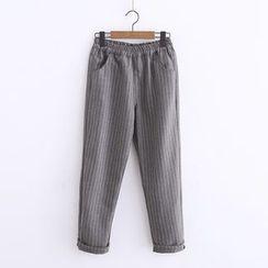 PP家 - 條紋哈倫褲