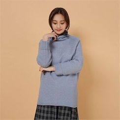 Styleberry - Turtle-Neck Sweater