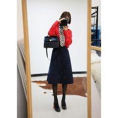 ssongbyssong - Ruffled Midi Skirt