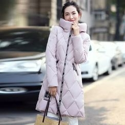 Aigan - Hooded Padded Coat
