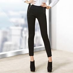 O.SA - Double-Zip Skinny Pants