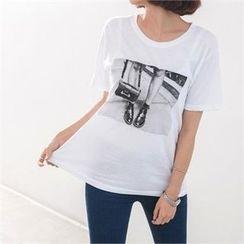 PEPER - Short-Sleeve Printed T-Shirt