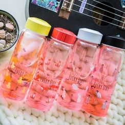 Wild Peach - Animal Print Water Bottle