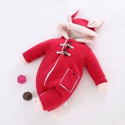 JIMIJIMI - Baby Hooded One-Piece