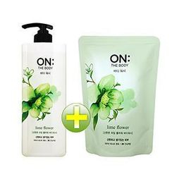 ON: THE BODY - Lime Flower Set: Body Wash 500g + Refill 250g
