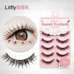 Litfly - Eyelash #103 (5 pairs)