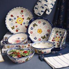 Hashi - Print Ceramic Plate