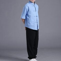 Willow Tree - Kids Set: Chinese Top + Pants