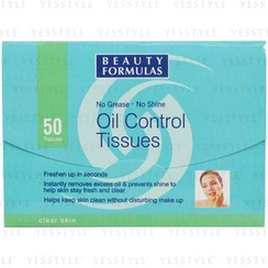 Beauty Formulas - Oil Control Tissues
