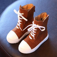 Luco - Kids Lace Up Boots