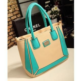 Miss Sweety - Color-Block Tote