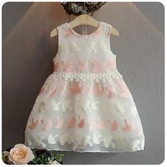 Rakkaus - Kids Embroidered Dress