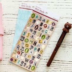 Homey House - Alphabet Stickers
