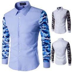 Constein - Camo Panel Shirt
