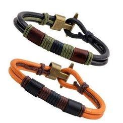 KINNO - Faux Leather Bracelet