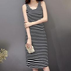 Romantica - Striped Tank Dress