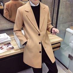 Prep Soul - Plain Wool Coat