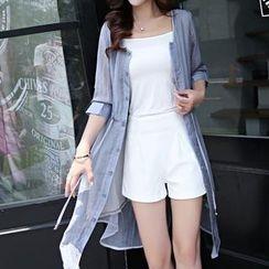 Romantica - Chiffon Shirt Dress