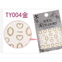 Benlyz - 3D Nail Sticker (TY-4G)
