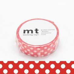 mt - mt Masking Tape : mt 1P Dot Red Base