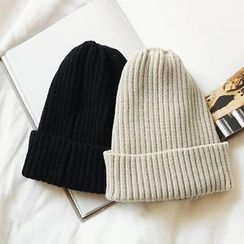 NANING9 - Rib-Knit Beanie