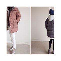 MASoeur - Hooded Layered Padded Coat