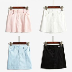 HotBlock - Plain A-Line Skirt