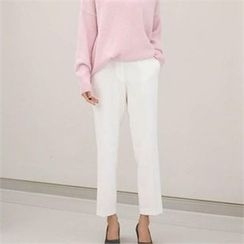 YOOM - Brushed Fleece Dress Pants