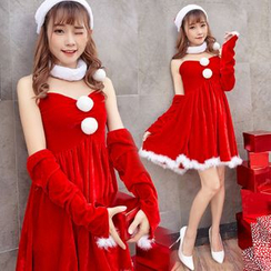 Cosgirl - Christmas Party Costume