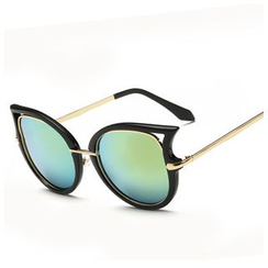 Koon - Cat Eye Mirrored Sunglasses