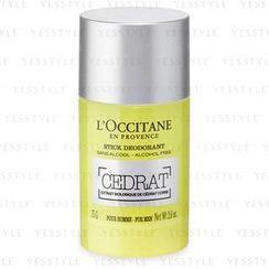L'Occitane - Cedrat Stick Deodorant