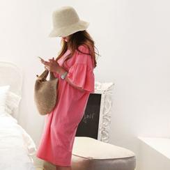 NANING9 - Drop-Shoulder A-Line Dress