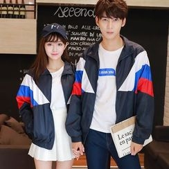 CASSY - Couple Matching Panel Jacket