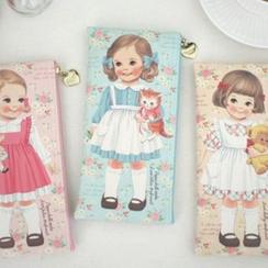 iswas -  'Paper Doll Mate' 系列碎花鉛筆保護套