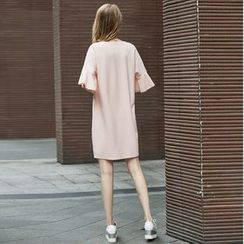 VIZZI - Plain T-Shirt Dress