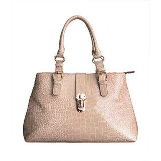 yeswalker - Croc-Embossed Patent Shoulder Bag