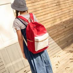 Seok - Color Block Backpack