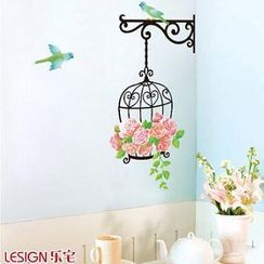 LESIGN - Birdcage Wall Sticker