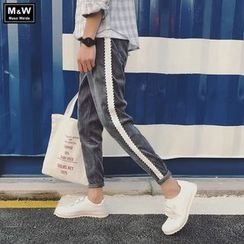 Masowild - Panel Corduroy Jogger Pants