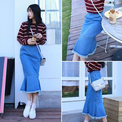 Clair Fashion - Denim Skirt