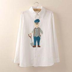 Tangi - 长袖印花衬衫
