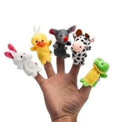 Hello Mammy - Kids Animal Finger Puppet